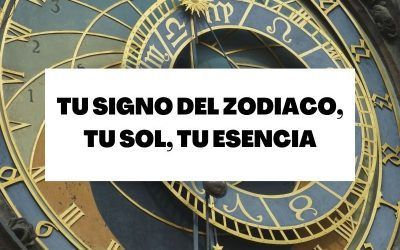 Tu signo del zodiaco, tu sol, tu esencia